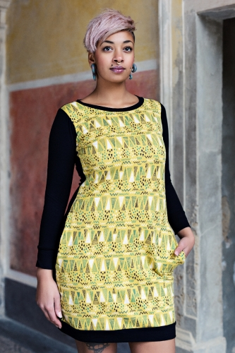 šaty Little Mustard Dress
