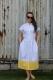 košilové šaty Maya s přepadlým rukávkem
